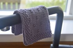 Ravelry: Sugarcube Dishcloth pattern by Henriette Schwarz Purl Stitch, Dishcloth, Stockinette, Needles Sizes, Washing Clothes, Ravelry, Lilac, Knitting, Pretty