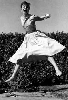 7. Audrey Hepburn, 1955