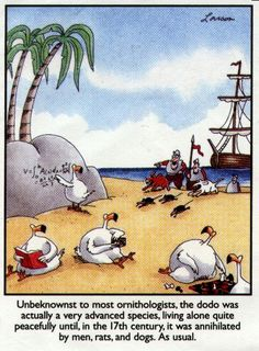 The Far Side - Gary Larson. Humor with a side of cold, hard truth.