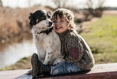 Polish Mother Captures Heartwarming Photos of Her Son and Their Three Adopted Dogs - My Modern Met