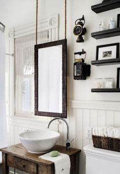 Coastal/Vintage Bath