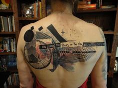 Tattoo by Xoil. (You placed the stars in the sky and you call them by name)