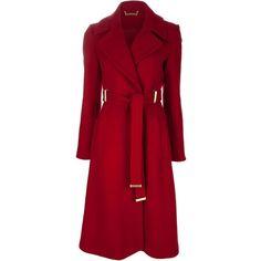 DIANE VON FURSTENBERG 'Mikhaila' coat found on Polyvore featuring polyvore, women's fashion, clothing, outerwear, coats, jackets, coats