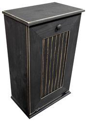 24 best wood trash cans hampers images wood trash can kitchen rh pinterest com