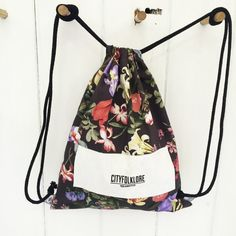 Drawstring MIXER FLOWERLY DARK
