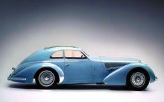 The Alfa Romeo 8C 2900 B Lungo Touring