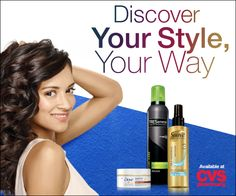 We each have amazing, personal style.  What is YOURS!?  What is YOUR style? Let CVS/pharmacy help you find it. I go for shine! Great tips & affordable hair products #YSYW #ad