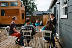 My Journey to Tiny Cohousing — Niche Consulting Tiny House Layout, House Layouts, Tiny Homes, Small Spaces, Journey, Small Living Spaces, House Floor Plans, The Journey, Tiny House Living