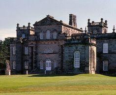 Seaton Delaval Hall, Northumberland, England. (Sir John Vanbrugh: 1718)