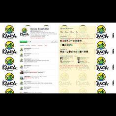 Case de Mídia Social - Perfil Twitter @kanoa_bar em 2010 #redessociais #cases #mídia #relacionamentos #webstagram #clientes #portifolio
