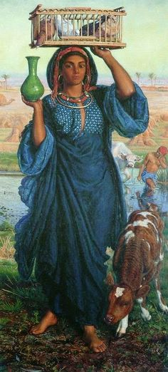 The Afterglow in Egypt - William Holman Hunt