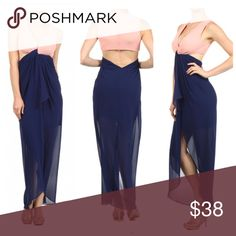 Dress Long with cut out back an sides Dresses Maxi
