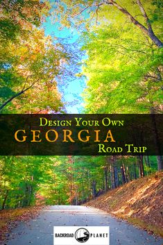 Design your own Georgia (USA) road trip with Backroad Planet's suggested destinations, activities, scenic byways