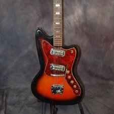 Harmony H-19 Sillouette DeArmond Moustach Gold Foil Pickups Hagstrom Bridge and Whammy Original Case 1965 Redburst. Give us a call. Lawman Guitars 515-864-6136