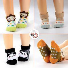 3d00ac353 Haley Clothes Newborn Baby AntiSlip Socks Toddler NonSkid Socks for Kids 7  Pairs Box Baby Boys Infant Socks Gift Set Size S fits for 06 Months      Check ...