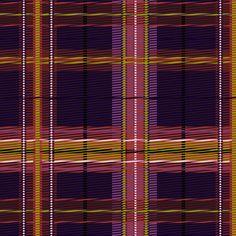 Plaid purple pink fabric by glimmericks on Spoonflower - custom fabric