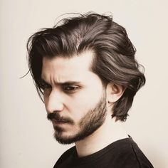 Neck Length Layered Hair hair styles for men Handsome And Cool – The Latest Men's Hairstyles for 2019 Latest Men Hairstyles, Easy Hairstyles For Long Hair, Long Hair Cuts, Straight Hairstyles, Hairstyle Ideas, Men's Hairstyles Long, Long Hair For Men, Perfect Hairstyle, Long Haircuts For Men