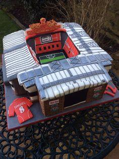 Anfield Stadium Birthday Cake.