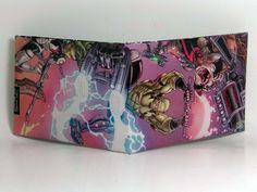 Comic Book Wallet// Guardians of the Galaxy// Gamora, Drax, and Rocket Raccoon, $4.00