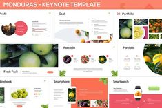 Monduras - Nature Keynote Template by SlideFactory on Envato Elements Free Keynote Template, Creative Powerpoint Templates, Powerpoint Presentation Templates, Agriculture, Editable, Presentation Design Template, Design Templates, Image Layout, Business Card Logo