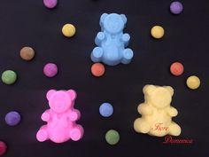 Χειροποίητο σαπουνάκι αρκουδάκι  Αρκουδάκι σαπουνάκι βάπτισης  για αγόρια και κορίτσια! Ότι χρώματα και άρωμα επιλέξετε!