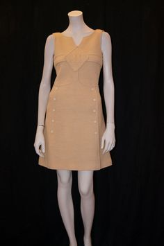 Vintage 1960s Mod Andres Courreges dress