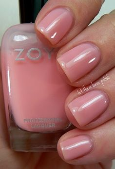 Love this soo much more than nude polish. Love this soo much more than nude polish. Love this soo much more than nude polish. Zoya Nail Polish, Nail Polish Colors, Manicure And Pedicure, Gel Nails, Gorgeous Nails, Love Nails, How To Do Nails, Pretty Nails, Best Nail Art Designs