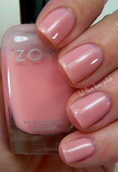 Zoya - Bela.   Love this soo much more than nude polish.