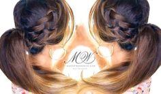 Fancy Waterfall Braid Ponytail | Romantic Everyday Hairstyles