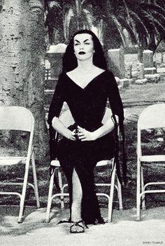 Maila Nurmi. Vampira.