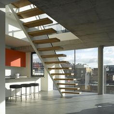 Batemans Row by Theis and Khan - love this staircase