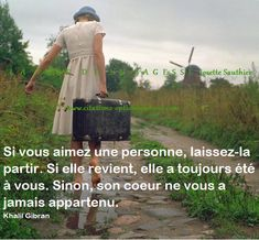 La Page de la Sagesse : Citation sur l'amour, de Khalil Gibran