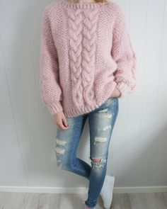 Another super soft and cozy mohair poppygenseren tonegenseren sweater