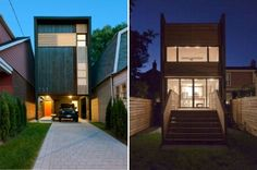 Shaft House, atelier rzlbd, toronto, small space living, urban infill, narrow light, sustainable design