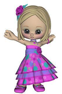 Mil e uma coisinhas: Poser Dolls