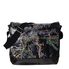 NYC Subway Line - Messenger Bag