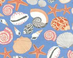 Cabana - Peri Seashell from Benartex