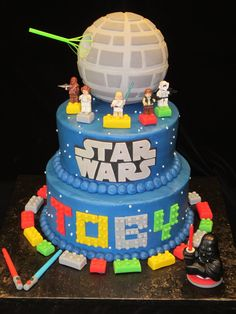 lego star wars cake - Buscar con Google