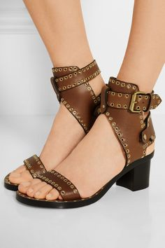c0b3eb40c Isabel Marant - Jaeryn embellished leather sandals