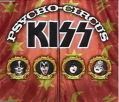 Kiss is an American rock band formed in New York City in January 1973 by Paul Stanley, Gene Simmons, Peter Criss, and Ace Frehley. Kiss Album Covers, Cd Cover, Cover Art, Best Rock Bands, Cool Bands, Kizz Band, Kiss Songs, Kiss Group, Gene Simmons Kiss