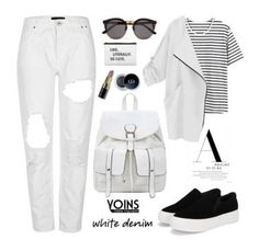 """""""Yoins #3!"""" by samra-bv ❤ liked on Polyvore featuring Illesteva and Bobbi Brown Cosmetics"""