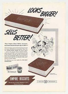 Empire Biscuits Ice Cream Sandwich (1949)