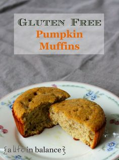 Gluten Free Pumpkin Muffins: Make a batch of these, and eat them slathered in butter with a cup of tea or coffee. If you really want to be decadent, add in chocolate chips!