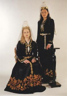 Icelandic Traditional Dress (kind of looks like an abaya)