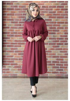 Hijab Style Dress, Modest Fashion Hijab, Abaya Fashion, Hijab Outfit, Muslim Women Fashion, Islamic Fashion, Stylish Dress Designs, Designs For Dresses, Moda Hijab
