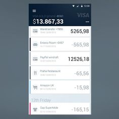 Mobile banking by Alexandr Demidov #digital #interface #mobile #design #application #ui #ux #webdesign #app #concept #userinterface #userexperience #inspiration #android #instaart #creative #dribbble #digitalart #behance #appdesign #sketch #designer #web #iphoneapp #art #colors #concept #ios #google #gif #animation #android