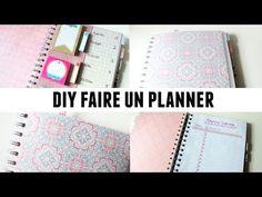DIY faire un planner - YouTube