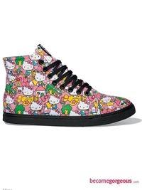 d434434cbd Cheerfully Hello Kitty Vans Shoes