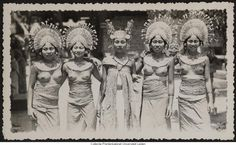 Old Photo, Bali, Indonesia