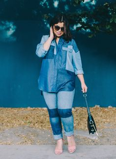Tired of the old jeans-and-a-tee combo? Here are 35 fall-friendly jeans outfit ideas that go way beyond basic. Fall Outfits, Casual Outfits, Cute Outfits, Fashion Outfits, Fashion Trends, Denim Outfits, Casual Clothes, Casual Wear, Plus Size Formal Dresses